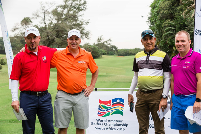 Players look to new heights at World Amateur Golfers Championship