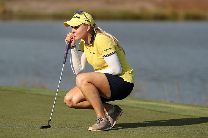 Hull leads LPGA Tour Championship