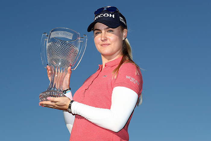 Hull dominates weekend for LPGA Tour Championship triumph