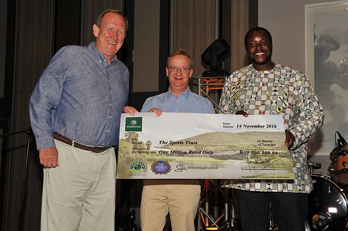 The Sports Trust Golf Challenge nets big bucks