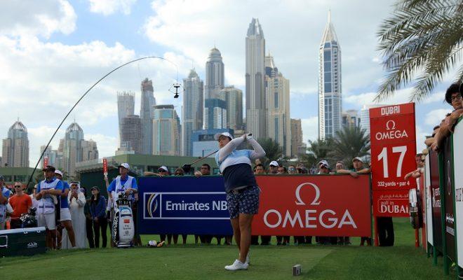 Feng wins, Simon shares fifth in Dubai