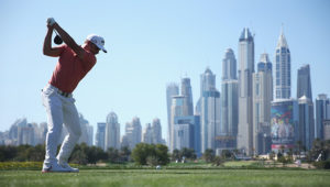 Haydn Porteous at the Omega Dubai Desert Classic
