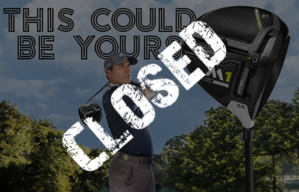 WIN a TaylorMade M1 Driver