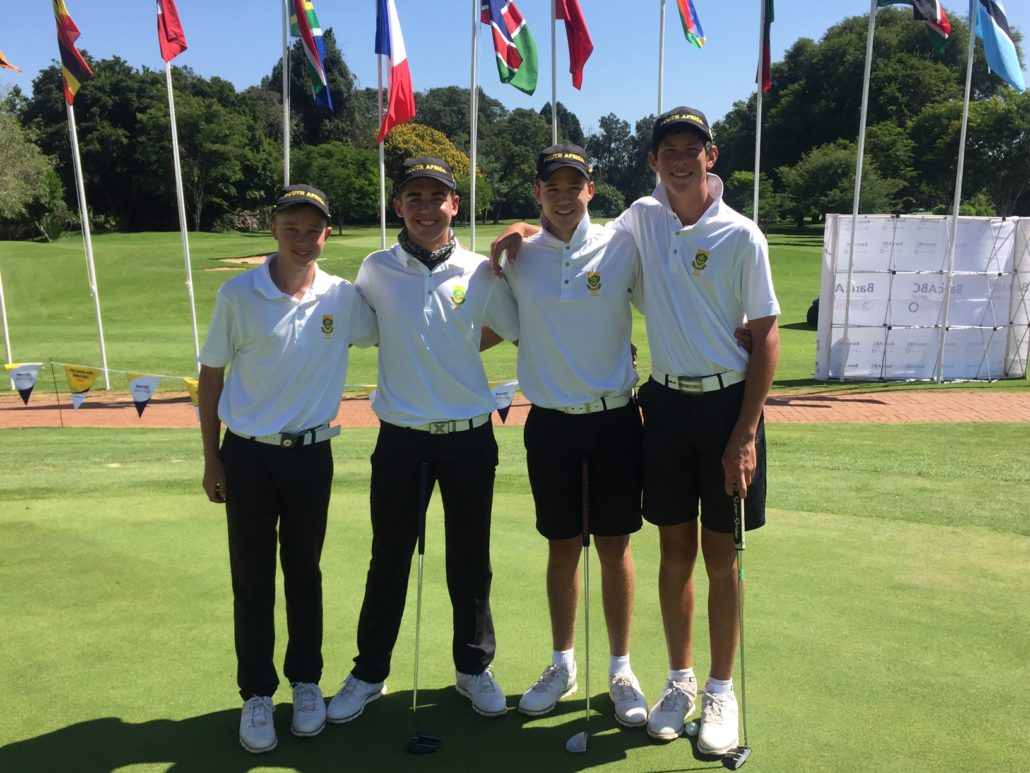 SA juniors fly the flag in Harare