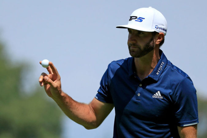 Dustin Johnson plays TaylorMade