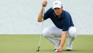 Jordan Spieth at the Houston Open