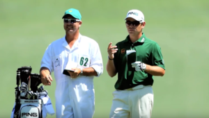 Louis Oosthuizen at Augusta