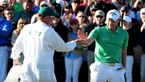Danny Willett defends at The Masters title