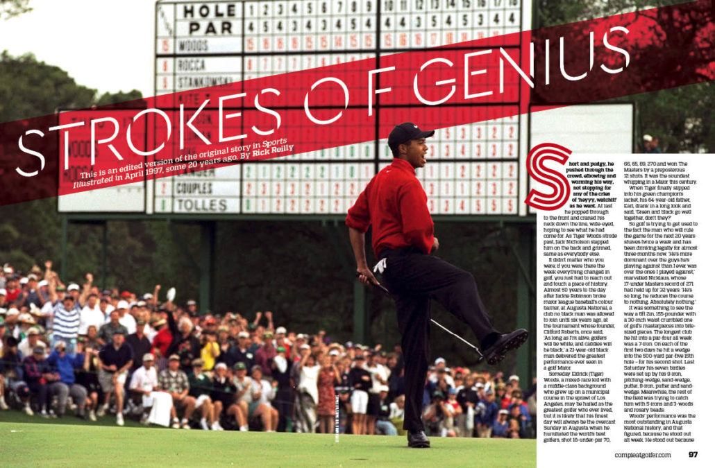 Tiger Woods in 1997