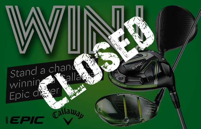 Stand a chance of winning a Callaway Epic driver