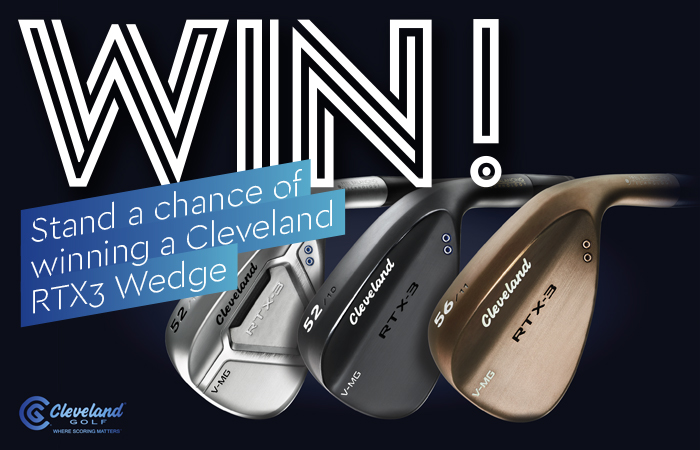 Stand a chance of winning a Cleveland RTX3 Wedge
