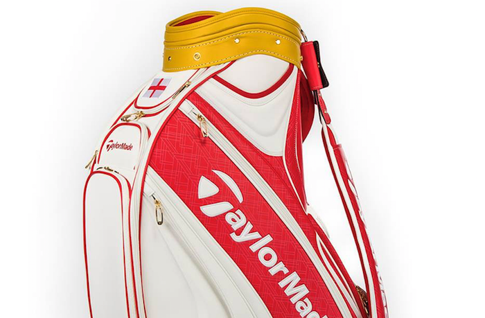TaylorMade's reveal Open Championship staff bag
