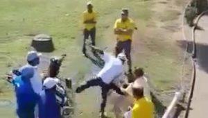 Golf brawl in Durban