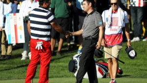 Louis Oosthuizen and Patrick Reed