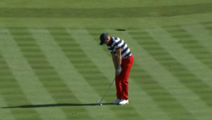 Daniel Berger at the Presidents Cup