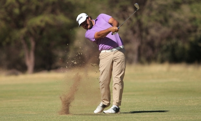Hennie Du Plessis leads at Sishen