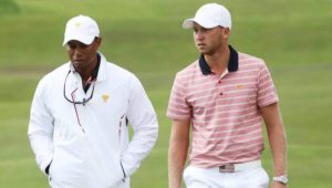 Daniel Berger and Tiger Woods