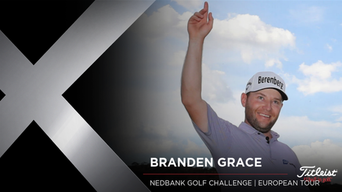 Titleist loyalist Branden Grace