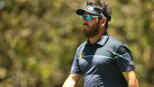Louis Oosthuizen at the Mauritius Open