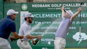 Nedbank Golf Challenge winner Branden Grace