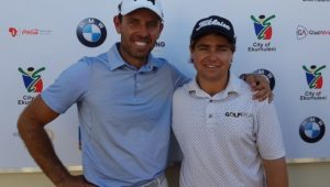 Kyle McClatchie and Charl Schwartzel