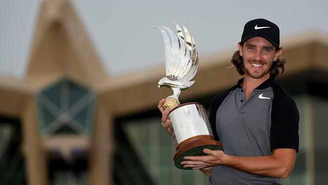 Tommy Fleetwood at Abu Dhabi