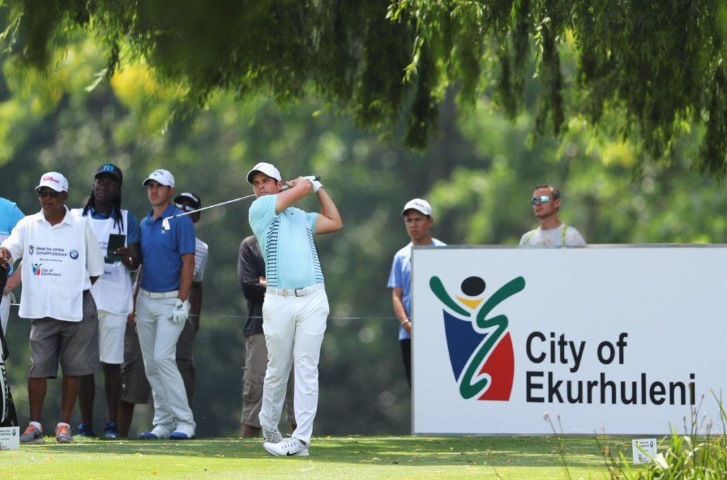 Adrien Saddier at the SA Open
