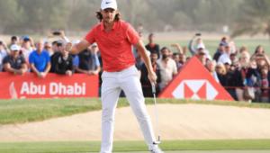 Tommy Fleetwood wins in Abu Dhabi
