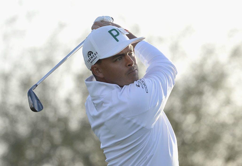 Rickie Fowler at Phoenix Open