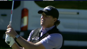 Mickelson at Riviera