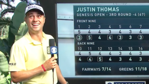 Justin Thomas after round 3