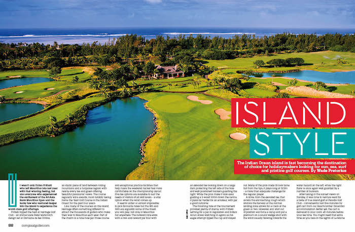 Compleat Golfer in Mauritius