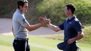 Peter Uihlein and Rory McIlroy
