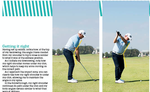 Improve your consistency by swinging like Haydn Porteous