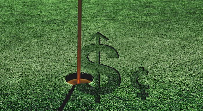 Women's golf money problems