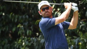 Louis Oosthuizen in Mexico