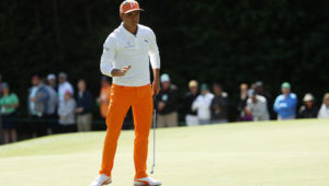 Rickie Fowler finished one back