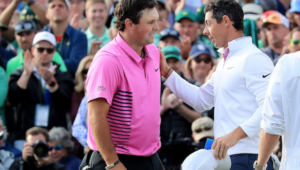 Reed and McIlroy at Masters 2018