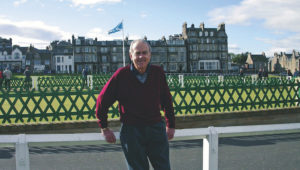 Denis Hutchinson, at the St. Andrews