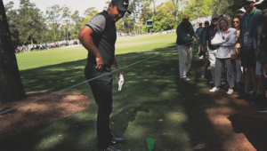 Jason Day ball at The Masters