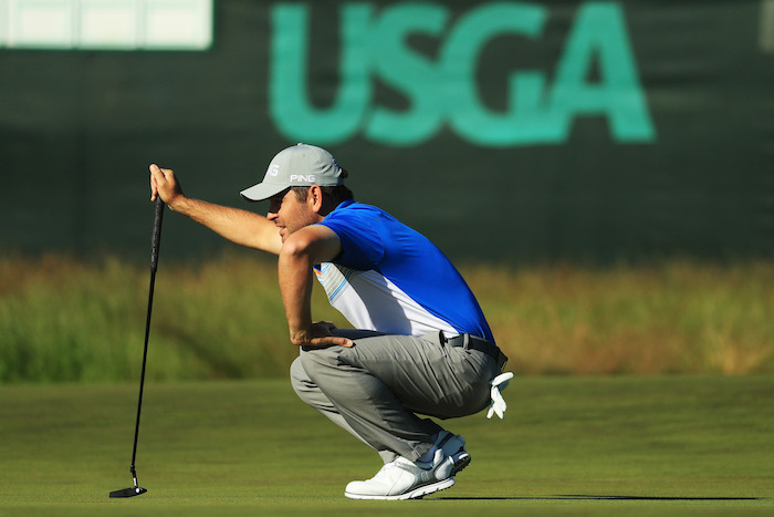 Louis Oosthuizen of South Africa l