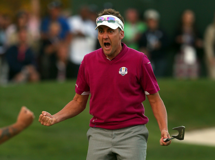 Ian Poulter at 2012 Ryder Cup
