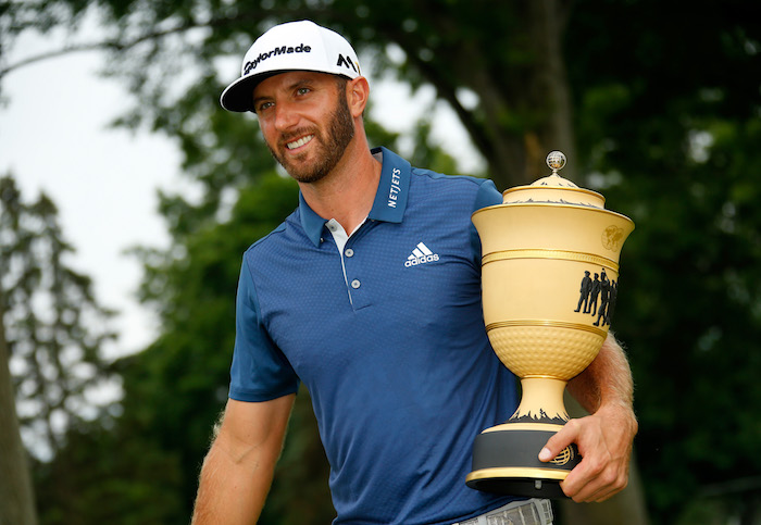 Dustin Johnson 2016 WGC-Bridgestone winner