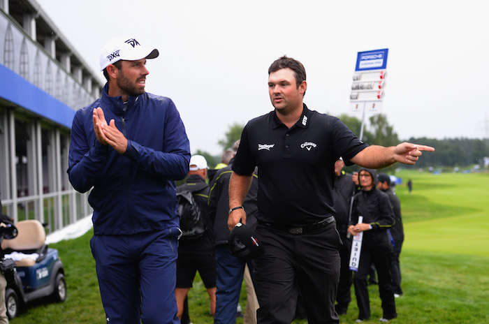 Charl Schwartzel and Patrick Reed