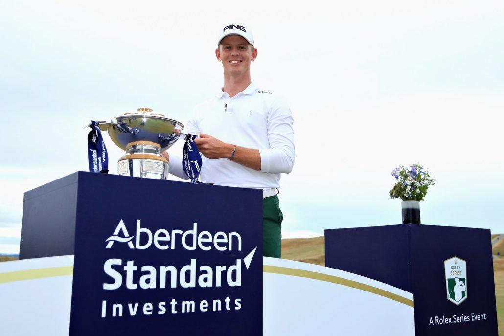 Brandon Stone wins Scottish Open