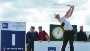 Martin Vorster wins Junior Open