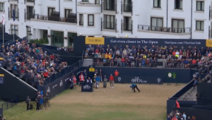 The Open round one