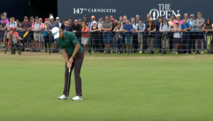 Justin Rose at The Open