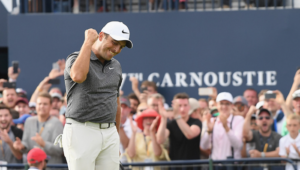 Francesco Molinari wins The Open