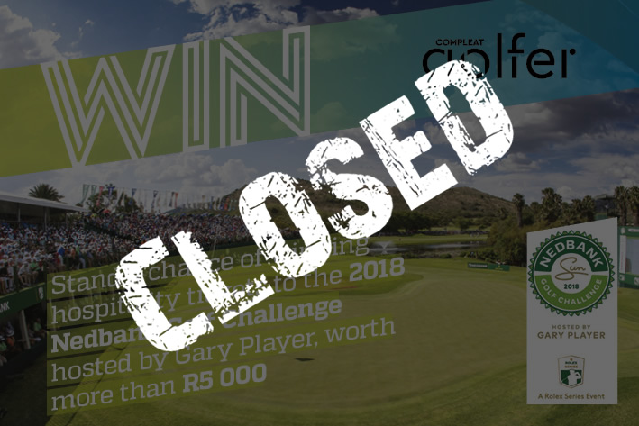 Hospitality tickets to the Nedbank Golf Challenge